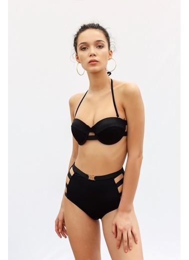 Vulevu Vulevu Moulded Bikini Üst Siyah